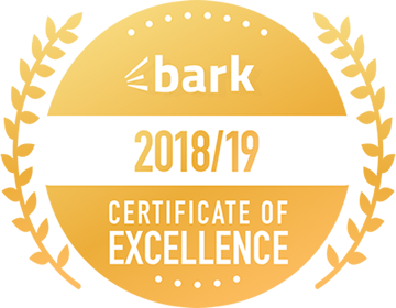 bark 2018/19 certificate of excellence